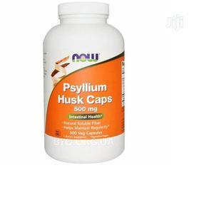 Now Foods Psyllium Husk 500mg 500 Veggie Caps | Vitamins & Supplements for sale in Lagos State, Amuwo-Odofin