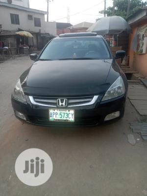 Honda Accord 2005 Tourer 2.4 S-Type Black | Cars for sale in Lagos State, Ikeja