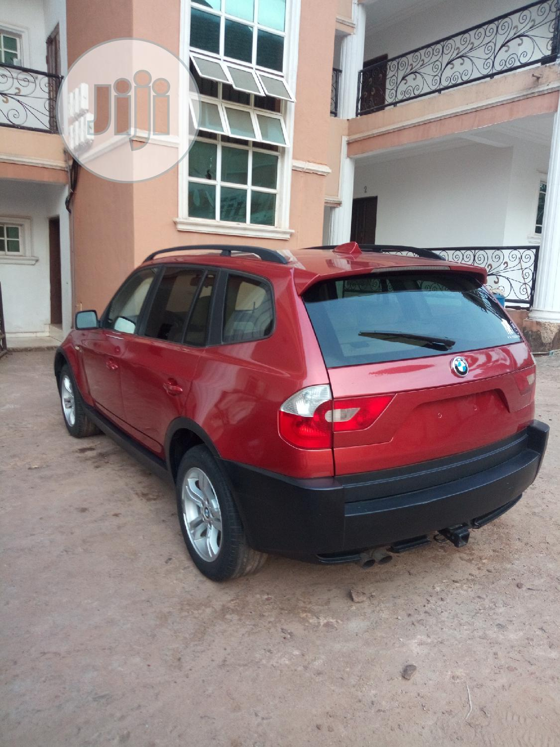 Archive: BMW X3 2005 Red