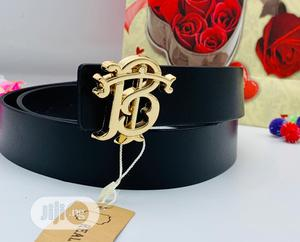 Burberry Leather Belt for Men's | Clothing Accessories for sale in Lagos State, Lagos Island (Eko)