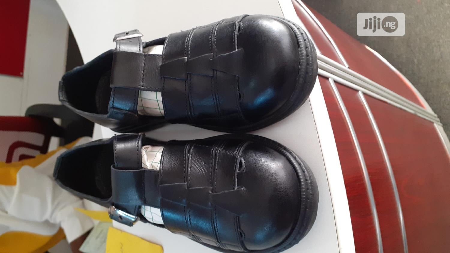 School Shoes/ Sandals Brown or Black | Children's Shoes for sale in Ikeja, Lagos State, Nigeria