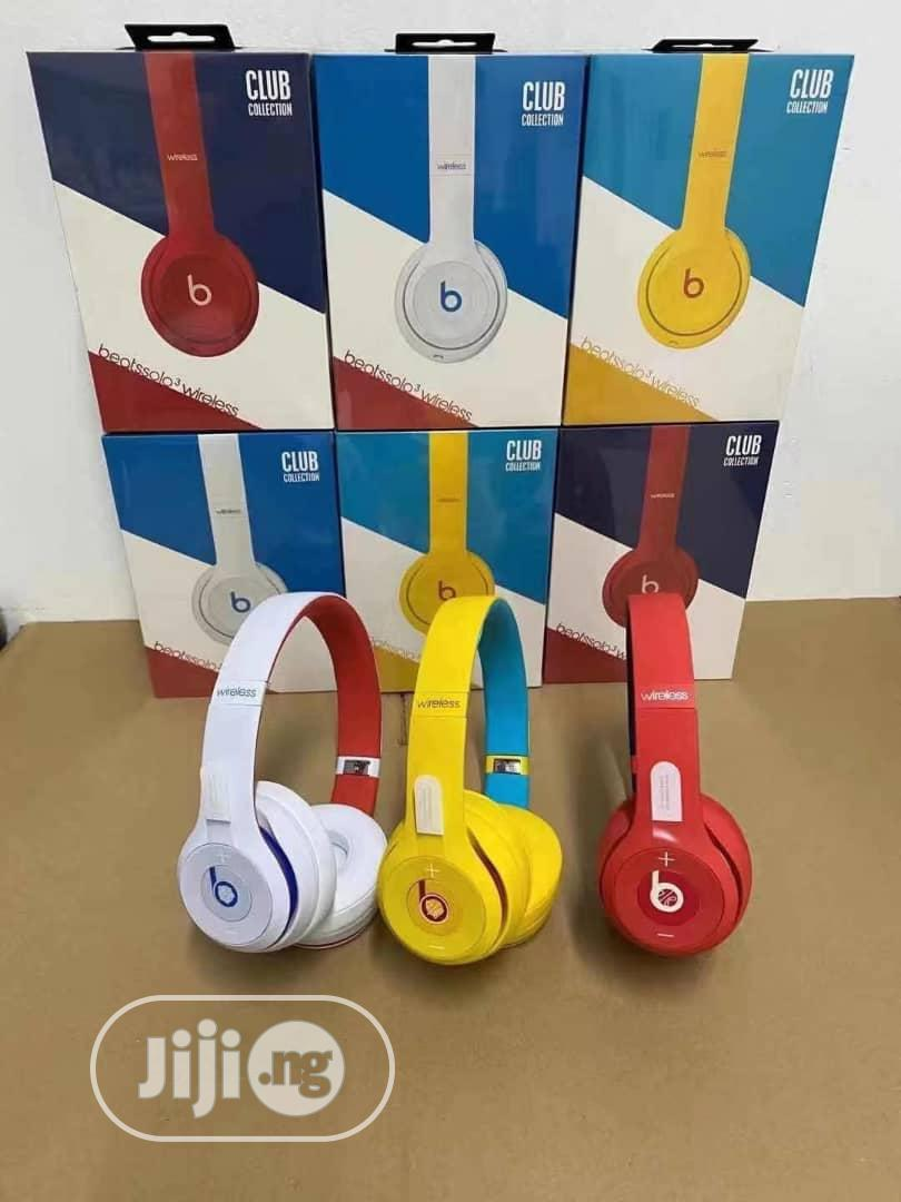 Beats Solo 3 Club Collection Wireless Heaphone | Headphones for sale in Ikeja, Lagos State, Nigeria