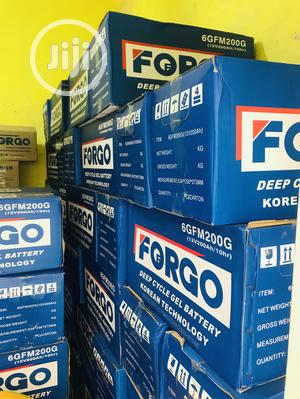 Forgo Solar Battery 12v 200ahs Available With Warranty   Solar Energy for sale in Abuja (FCT) State, Central Business Dis