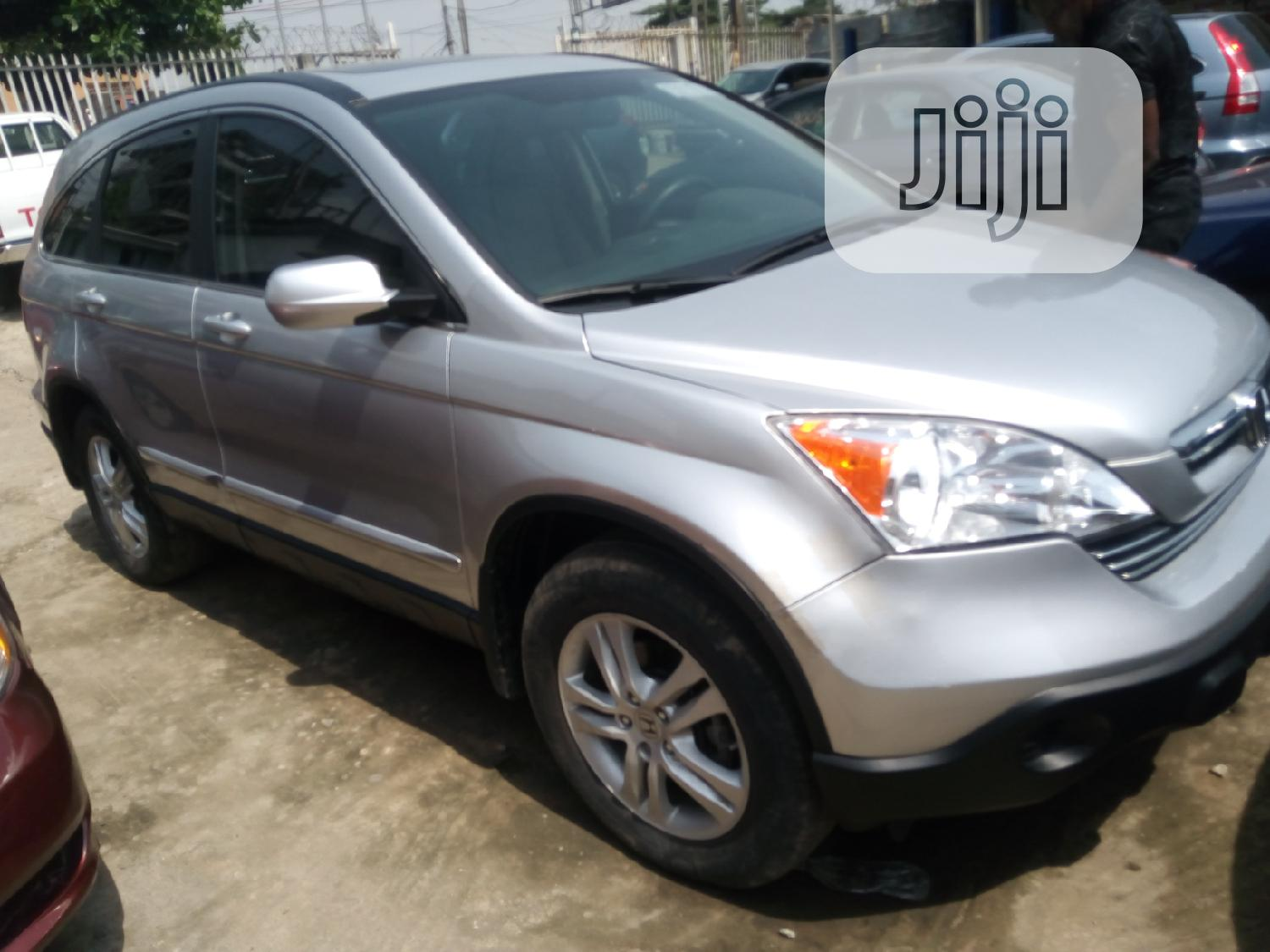 Honda CR-V 2012 LX 4dr SUV (2.4L 4cyl 5A) Silver   Cars for sale in Ikeja, Lagos State, Nigeria