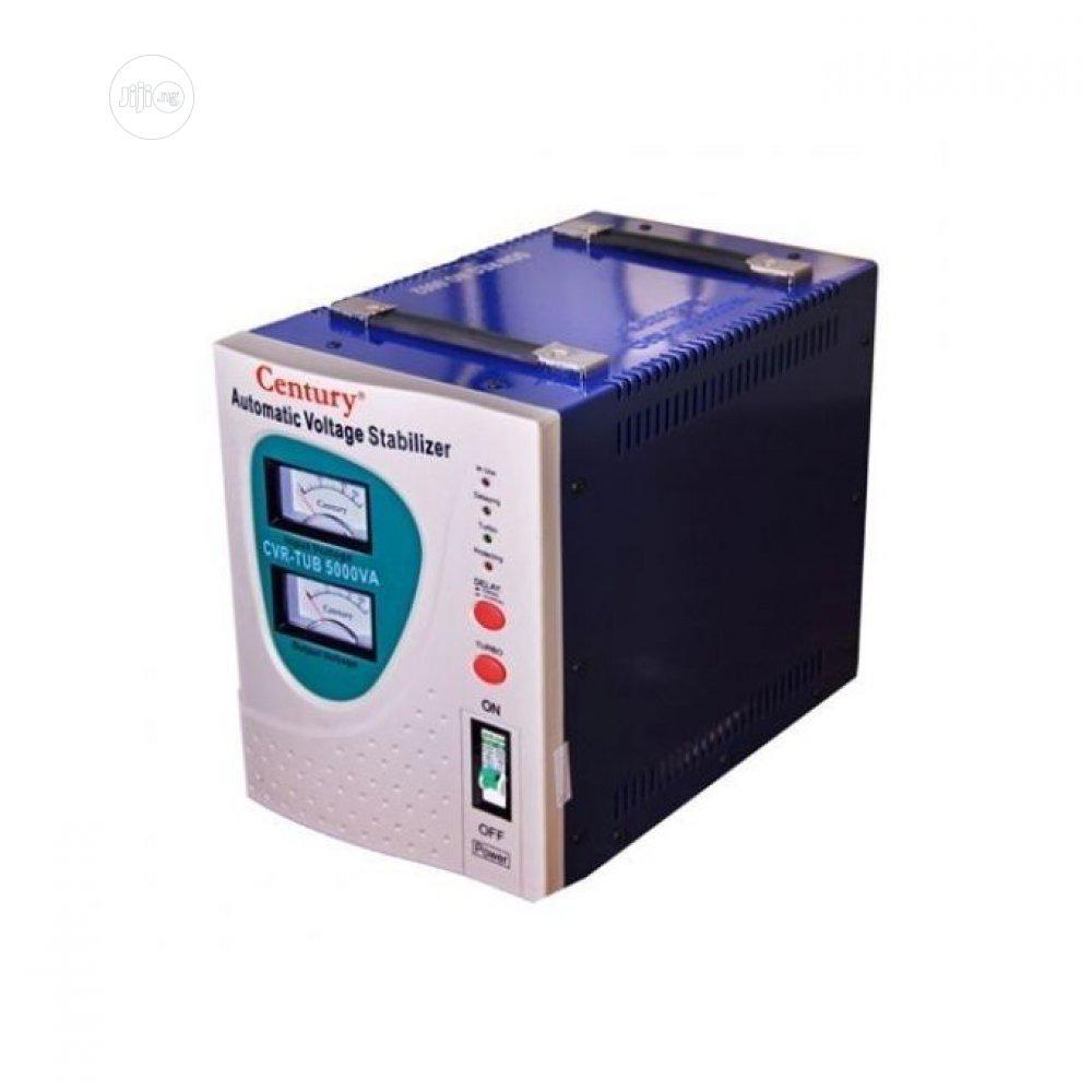 Archive: Automatic Voltage Stabilizer (Cvr-Tub 5000va-B) - Century