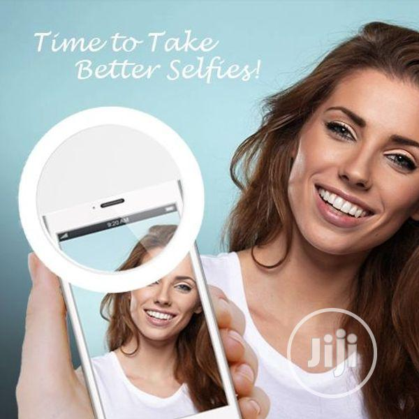 Rechargable LED Mini Selfie Ring Light for Phones Tablets | Accessories for Mobile Phones & Tablets for sale in Alimosho, Lagos State, Nigeria