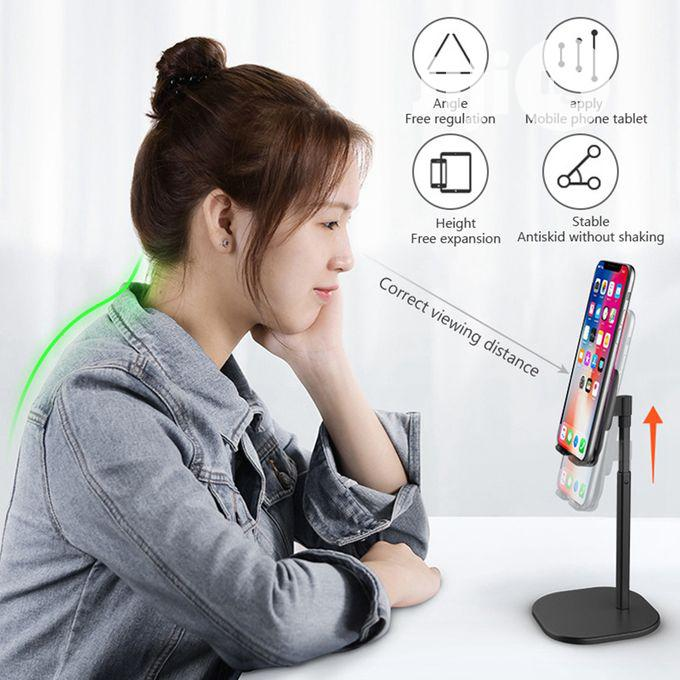 Tablet iPad Universal Mobile Phone Desktop Stand for Movie | Accessories for Mobile Phones & Tablets for sale in Ikoyi, Lagos State, Nigeria