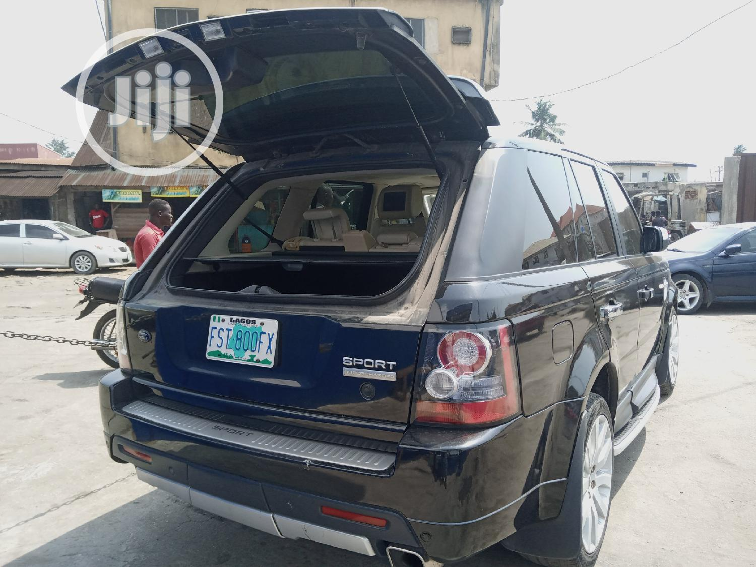 Land Rover Range Rover Sport 2007 Black | Cars for sale in Oshodi, Lagos State, Nigeria