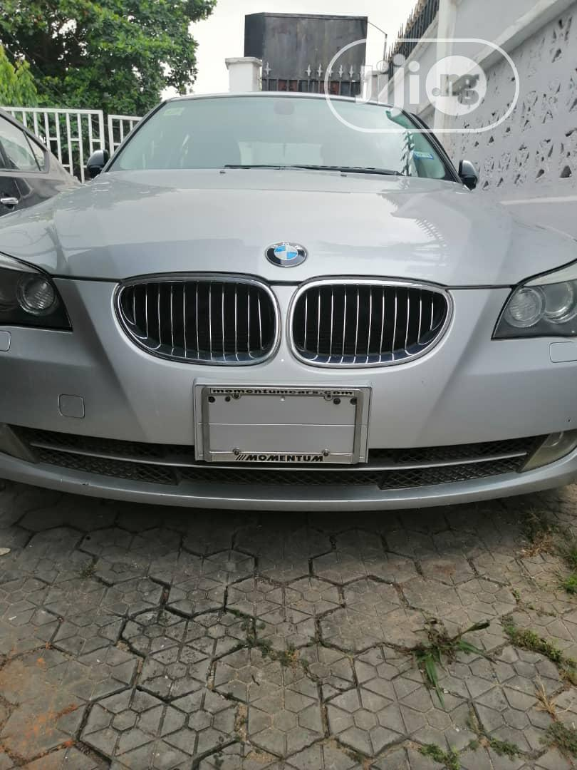 BMW 528i 2007 Silver
