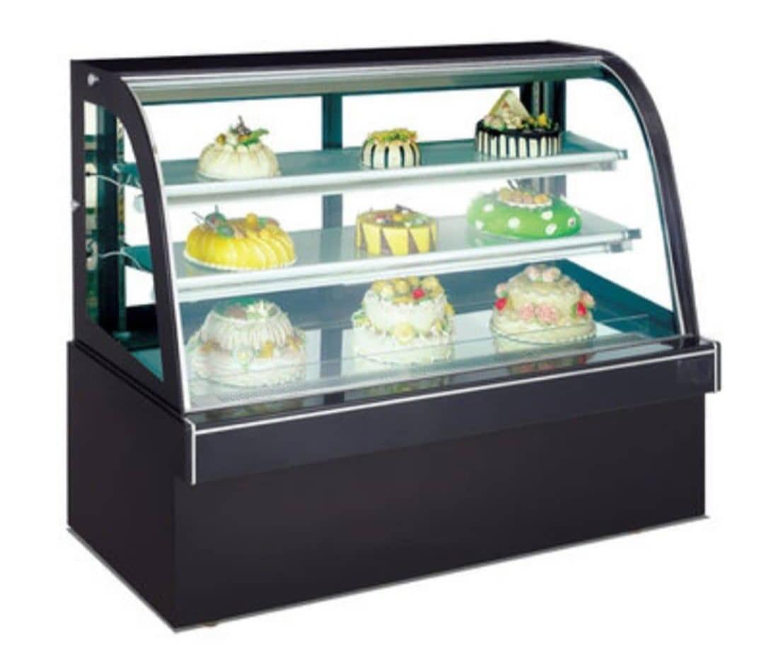 Black Standard Cake Display