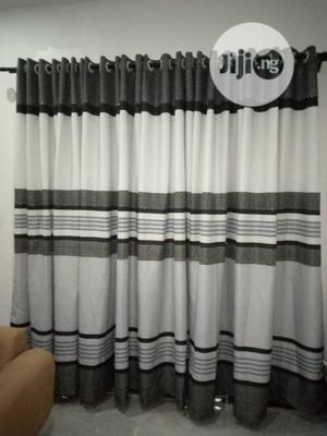 Black an Ash Curtain | Home Accessories for sale in Lagos State, Ajah