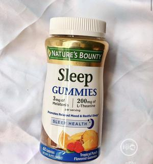 Nature's Bounty Sleep Gummies Tropical Punch Flavored 60 | Vitamins & Supplements for sale in Lagos State, Amuwo-Odofin