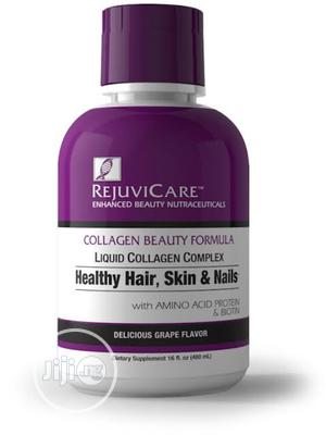 Rejuvicare Collagen Healthy Hair Skin Nails Grape Drink   Vitamins & Supplements for sale in Lagos State, Amuwo-Odofin