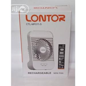 Lontor Rechargeable Mini Fan | Home Appliances for sale in Rivers State, Port-Harcourt