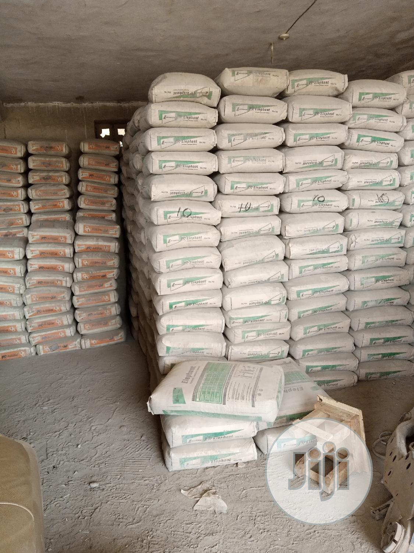 Cement Dangote Larfarge