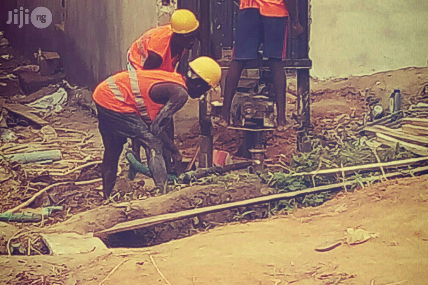 Borehole ,Soil Investigation and Piling Works | Building & Trades Services for sale in Lagos Island (Eko), Lagos State, Nigeria