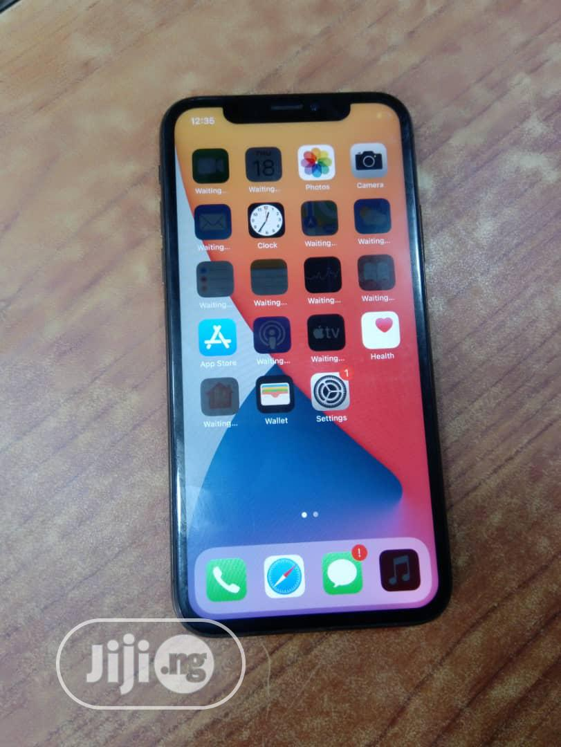 Apple iPhone X 64 GB Black | Mobile Phones for sale in Ikeja, Lagos State, Nigeria