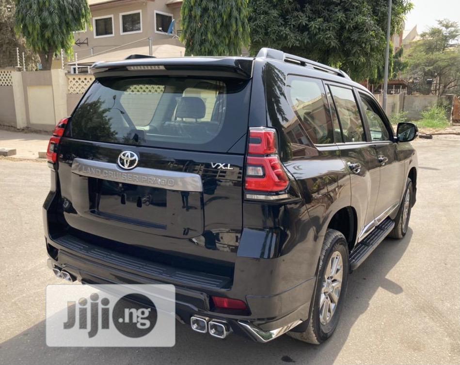 New Toyota Land Cruiser Prado 2019 VXR Black   Cars for sale in Garki 2, Abuja (FCT) State, Nigeria