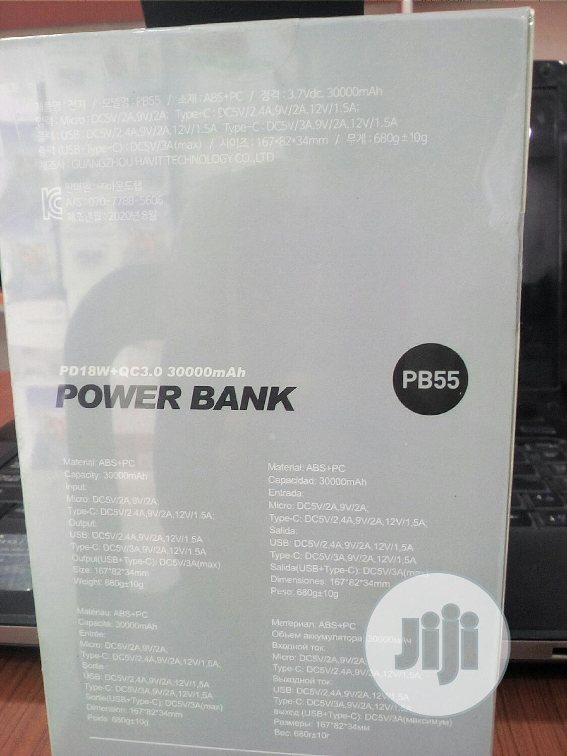 Havit 30000 Mah Power Bank | Accessories for Mobile Phones & Tablets for sale in Ikeja, Lagos State, Nigeria