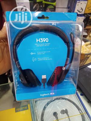 H390 USB Computer Headset ( Logitech) | Headphones for sale in Lagos State, Ikeja