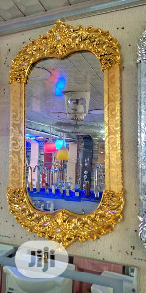 Gold Mirror | Home Accessories for sale in Lagos State, Orile