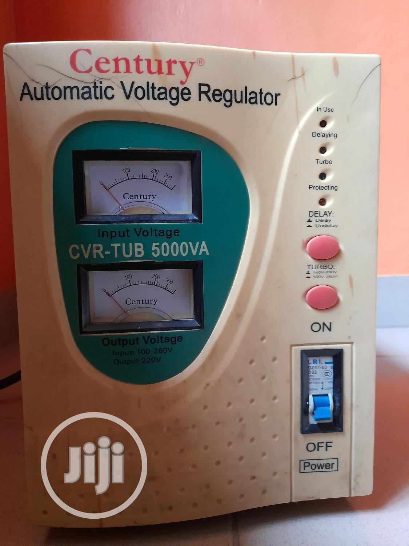 5000w/ 5KVA Century Automatic Voltage Regulator Stabilizer