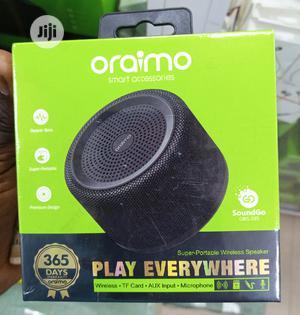 Oraimo Soundgo Mini Bluetooth Speaker MP3 Player   Audio & Music Equipment for sale in Lagos State, Ikeja