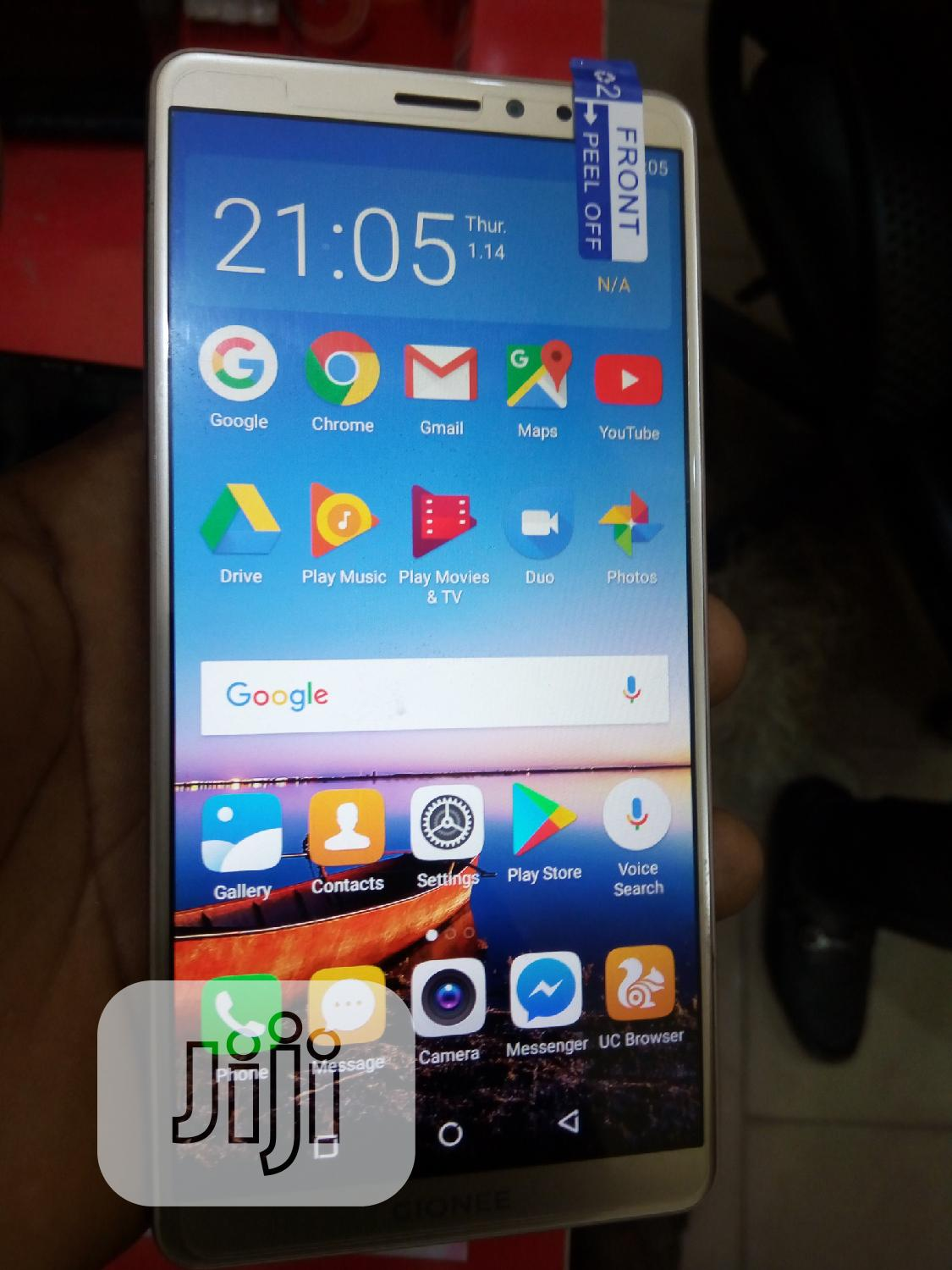 Gionee M7 Power 64 GB Gold | Mobile Phones for sale in Dutse-Alhaji, Abuja (FCT) State, Nigeria
