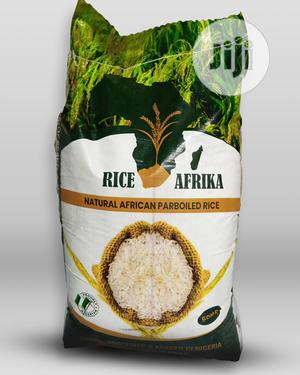 Riceafrika Premium Parboiled Rice 50kg   Meals & Drinks for sale in Lagos State, Ikeja