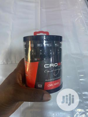 Crown Bluetooth Flexible Keyboard | Computer Accessories  for sale in Lagos State, Ikeja