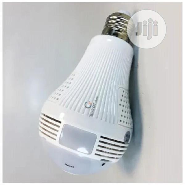 Wifi Panorama CCTV (Camera) Bulb