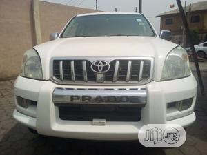 Toyota Land Cruiser Prado 2006 White   Cars for sale in Lagos State, Ikeja