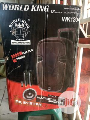 World King Bluetooth Speaker | Audio & Music Equipment for sale in Abuja (FCT) State, Asokoro