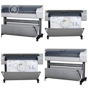 HP Plotters for Sale. HP Designjet T1100 44 UK Used | Printing Equipment for sale in Lagos State, Alimosho