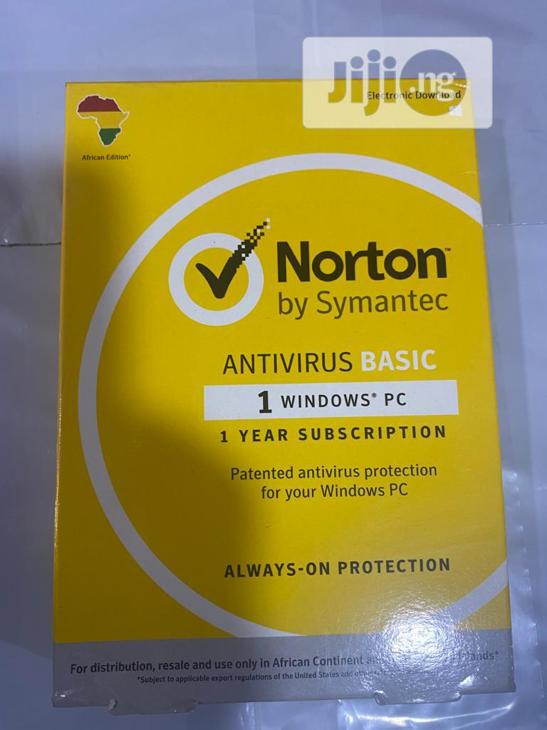 Norton 1 User Anti Virus