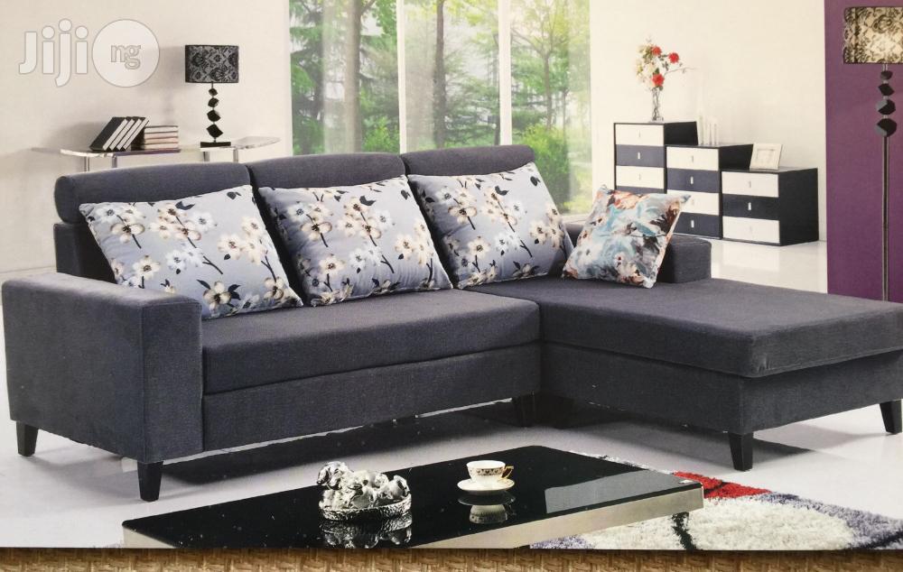 Archive: Fabric L-Sharp Sofa