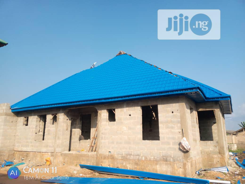 Step Tiles Roofing Sheets 0 5 5 | Building Materials for sale in Apapa, Lagos State, Nigeria