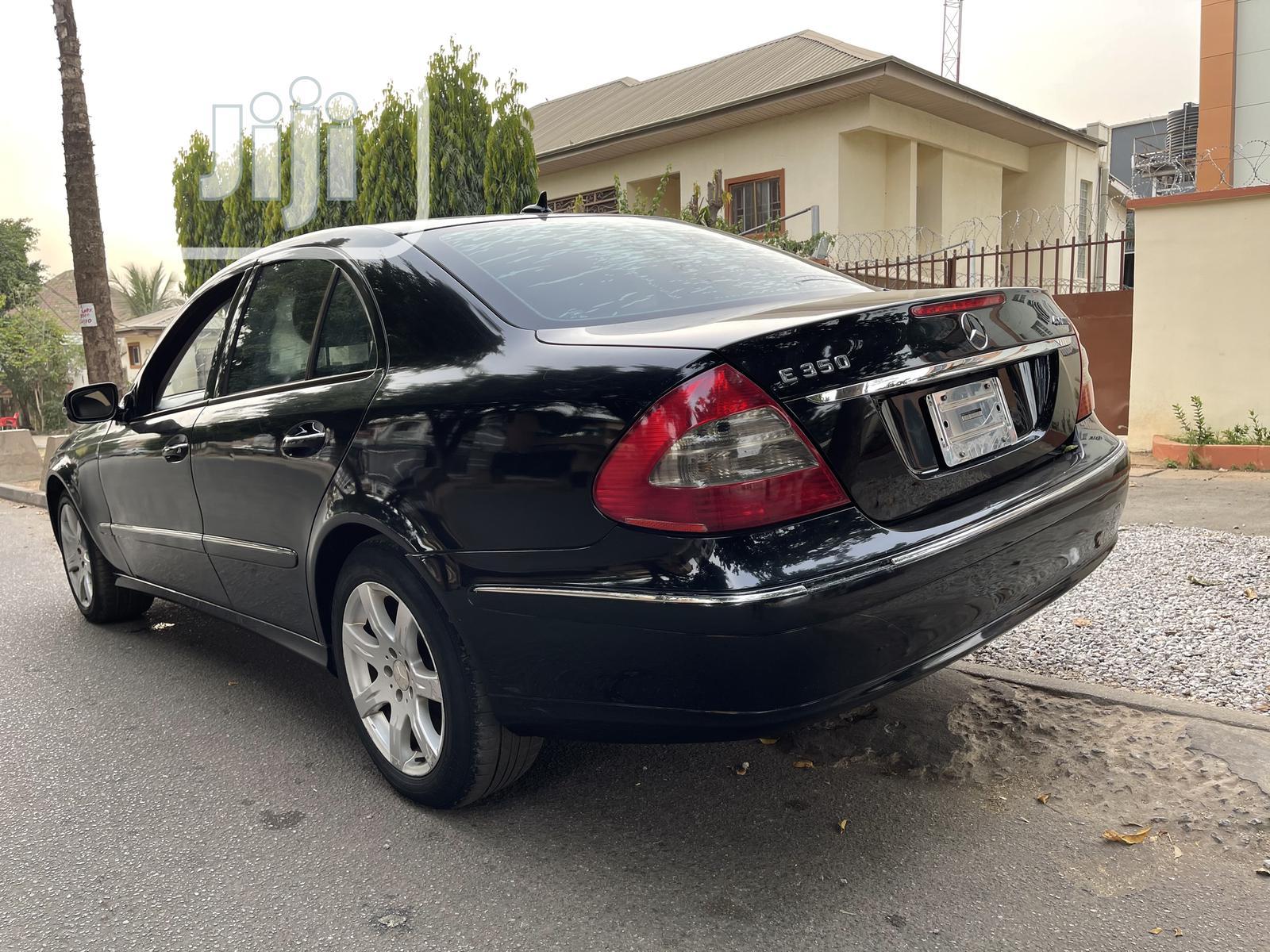 Mercedes-Benz E350 2008 Black   Cars for sale in Garki 2, Abuja (FCT) State, Nigeria