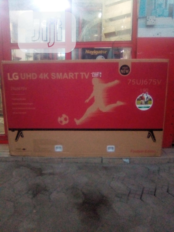 LG 75 Inches Uhd 4K Smart TV   TV & DVD Equipment for sale in Amuwo-Odofin, Lagos State, Nigeria