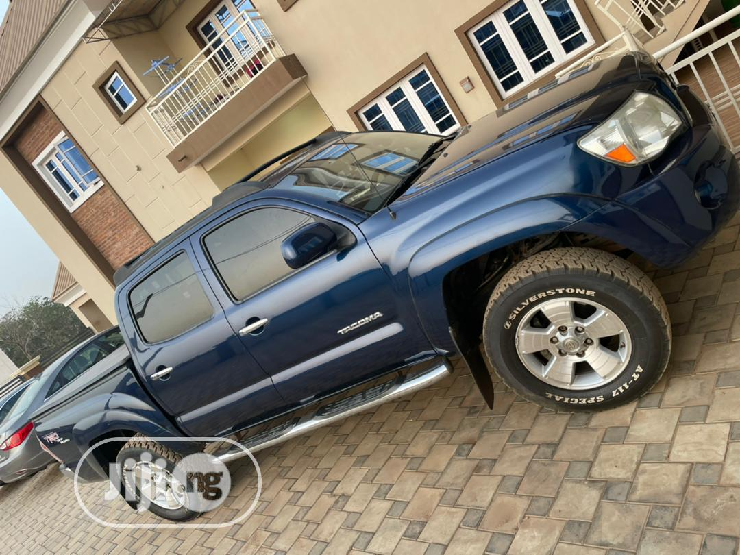 Toyota Tacoma 2008 4x4 Double Cab Blue | Cars for sale in Ilorin West, Kwara State, Nigeria