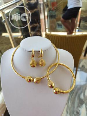 Choker Earrings and Bangle | Jewelry for sale in Lagos State, Ojo