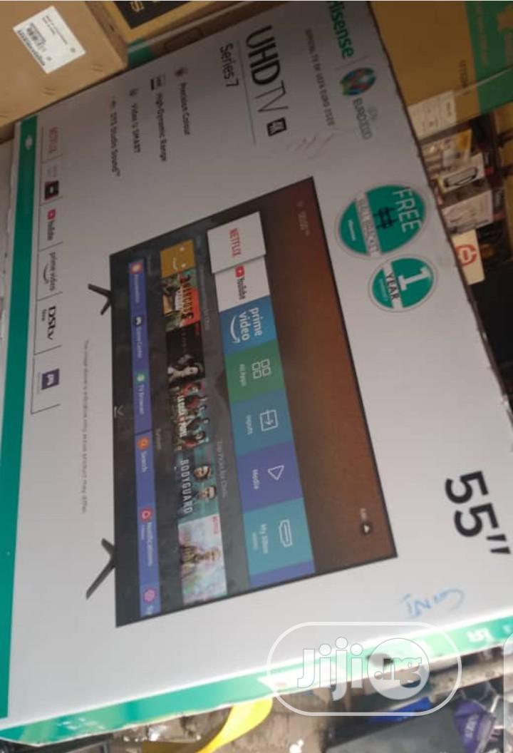 Hisense 55inches Smart Television.