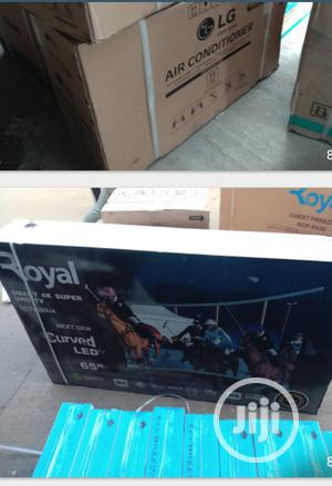 Royal 65inches Curved Television | TV & DVD Equipment for sale in Abuja (FCT) State, Wuse