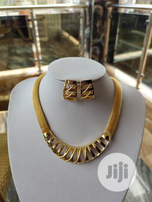 Beautiful Choker Necklace With Earrings | Jewelry for sale in Lagos State, Ojo
