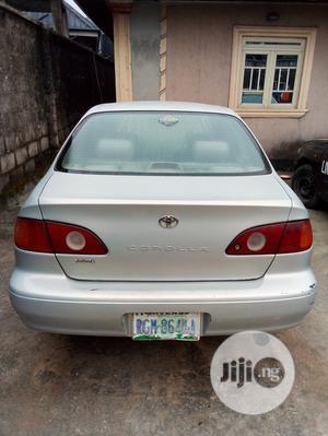 Toyota Corolla 2001 Sedan Silver   Cars for sale in Rivers State, Oyigbo