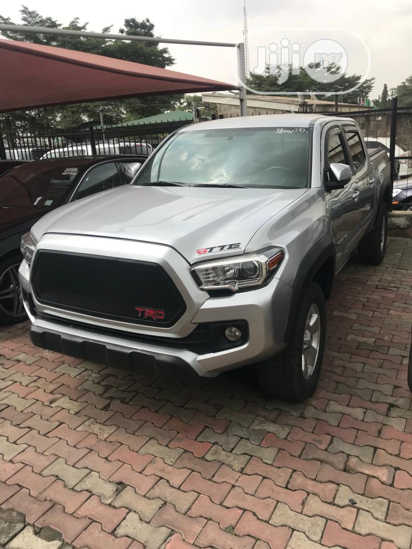 Toyota Tacoma 2016 4dr Double Cab Silver