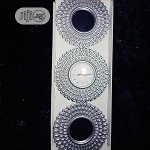 3 in 1 Beautifying Wall Clock Mirror   Home Accessories for sale in Lagos State, Ikeja