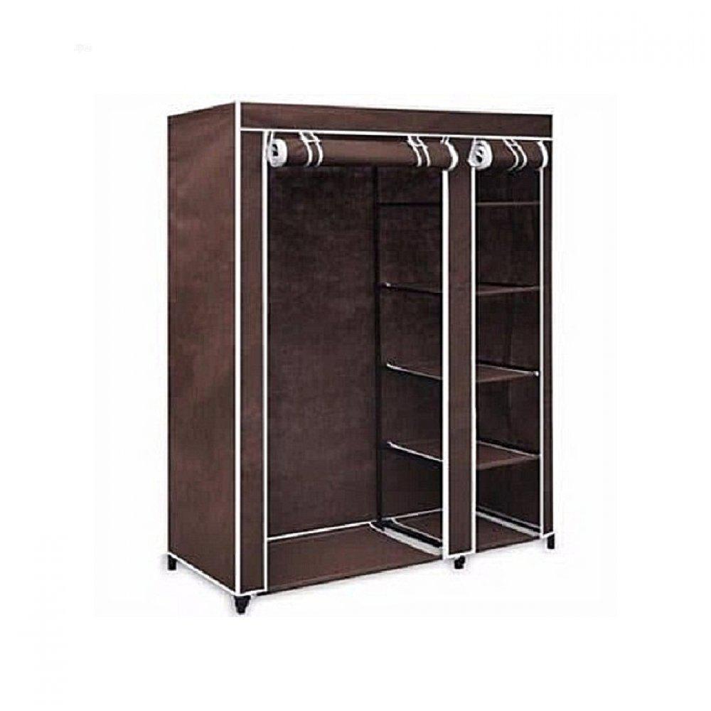 Strong Foldable Frame Mobile Wardrobe Closet (Medium)