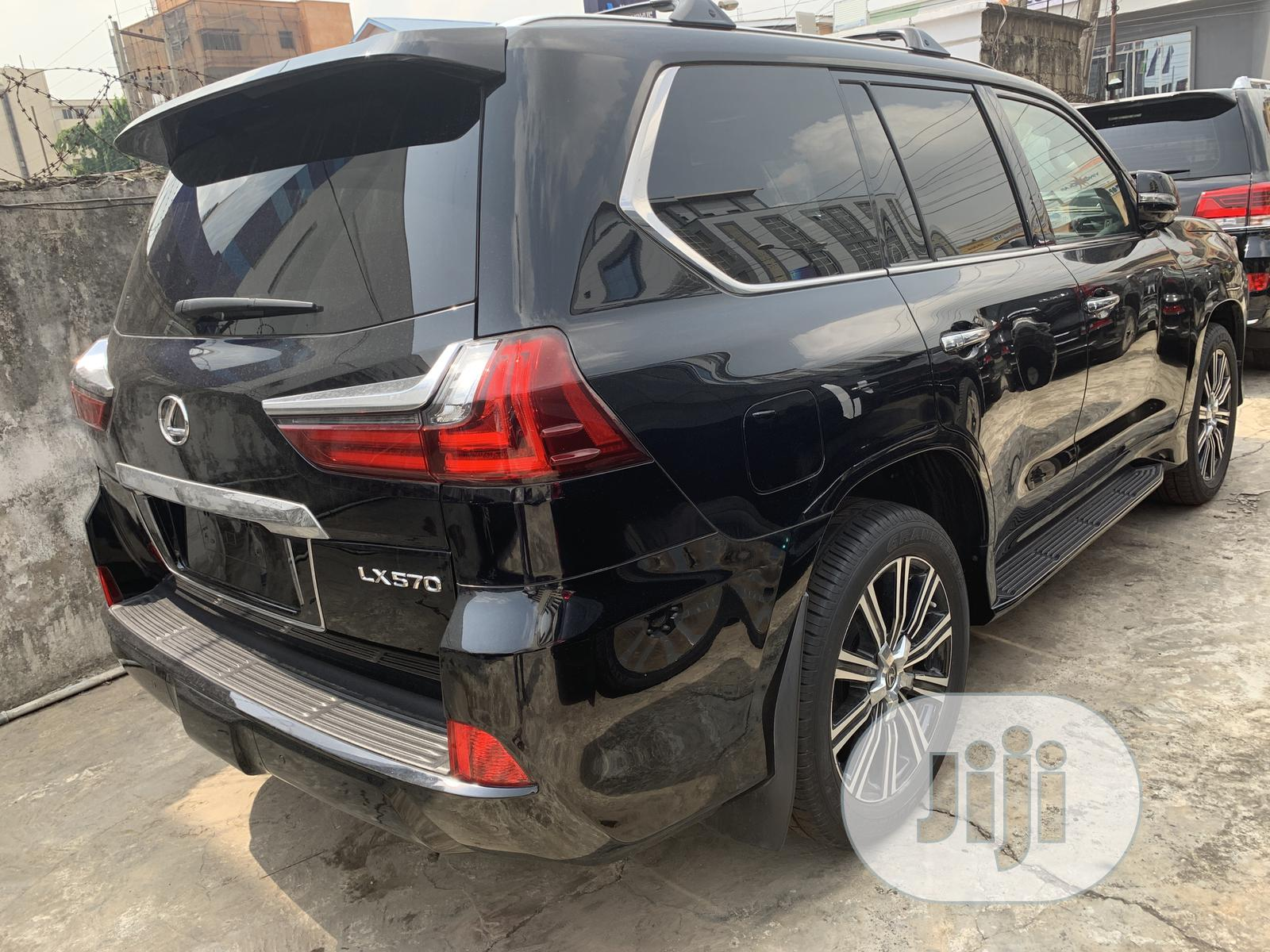 New Lexus LX 2019 570 Three-Row Black | Cars for sale in Ikeja, Lagos State, Nigeria