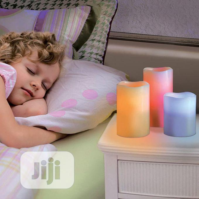 Decorative Flameless Luma Candles With Remote | Home Accessories for sale in Alimosho, Lagos State, Nigeria